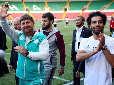 Egypt football star Mohamed Salah given honorary citizenship by Chechnya leader