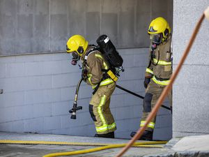 Picture By Peter Frankland. 16-08-21 Fire in an underground carpark at Royal Terrace / Les Canichers.. (29879856)