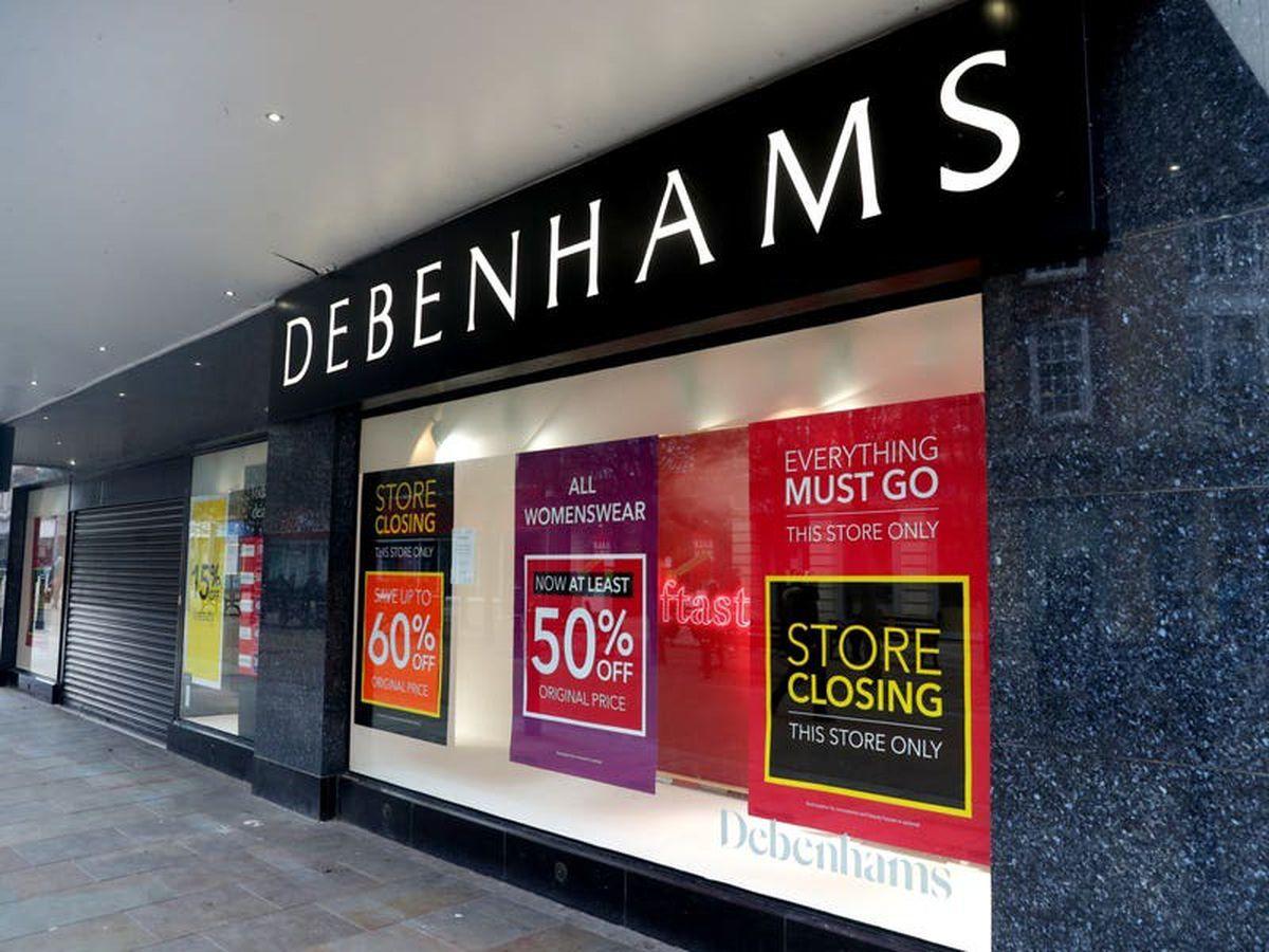 Debenhams reveals closing details for final 49 stores