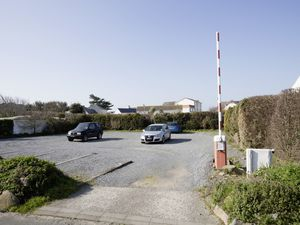 This land in Rue de Bouverie, Castel, which has been a car park for Cobo Bay Hotel since 2013, will now have three houses on it. The car park permission was given with the proviso that it revert to being a field if not needed for parking. (Picture by Adrian Miller, 29290952)