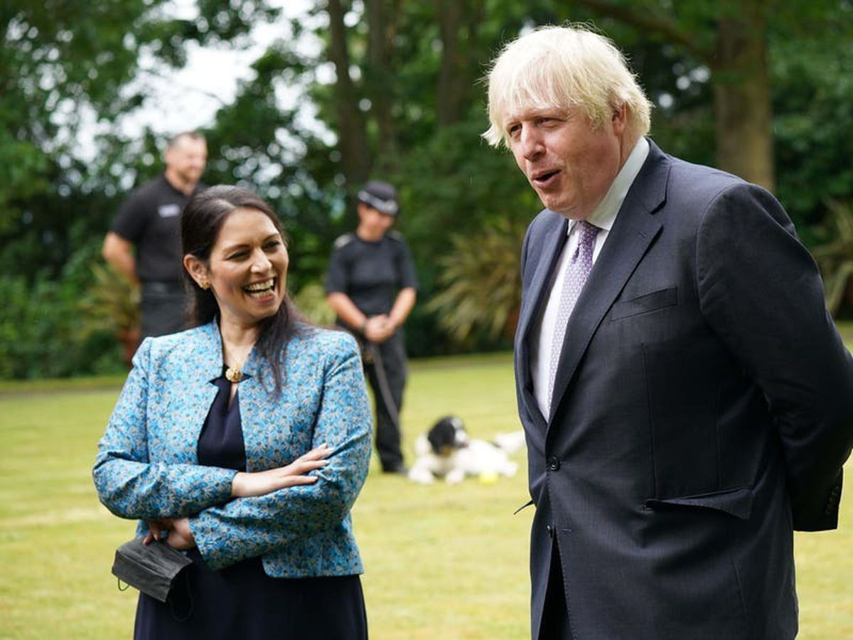 Johnson blasted for joking Patel is making UK 'the Saudi Arabia of penal policy'