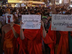 Thai demonstrators urge German government to investigate king's stays in Bavaria