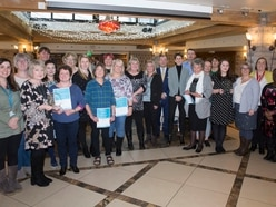 Health staff celebrated at awards