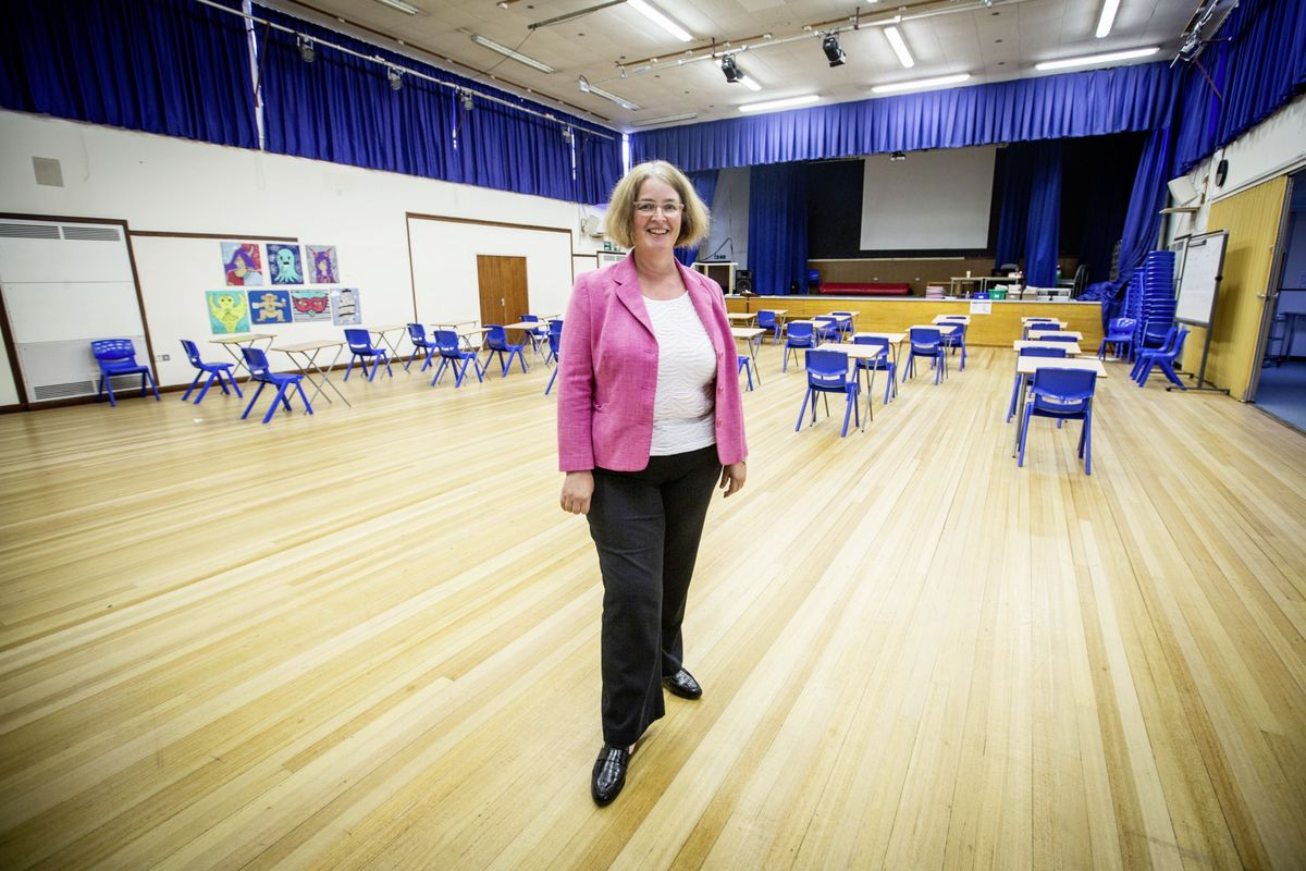 La Mare De Carteret High School headteacher Vicky Godley. (Picture by Sophie Rabey, 28359392)
