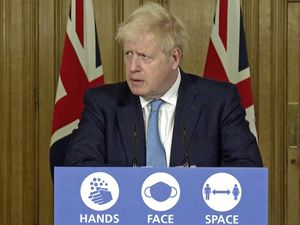 Prime Minister Boris Johnson is 'blamed if he does and blamed if he doesn't'. (28812126)