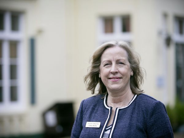 Pic by Adrian Miller 14-01-21 Summerland House care home Mount Durand - Cathy Bailey is the new chair of Guernsey Care Managers Association.. (29111888)