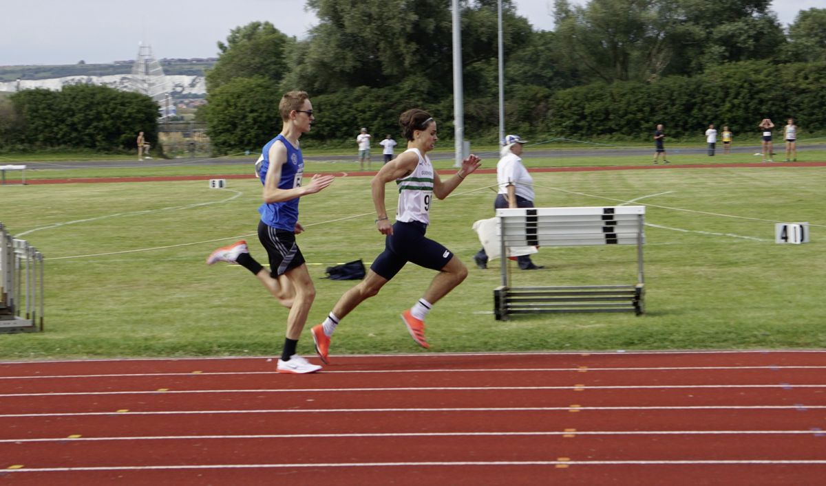 County champion: Gian-Luca Robilliard strives to stay ahead. (29932566)