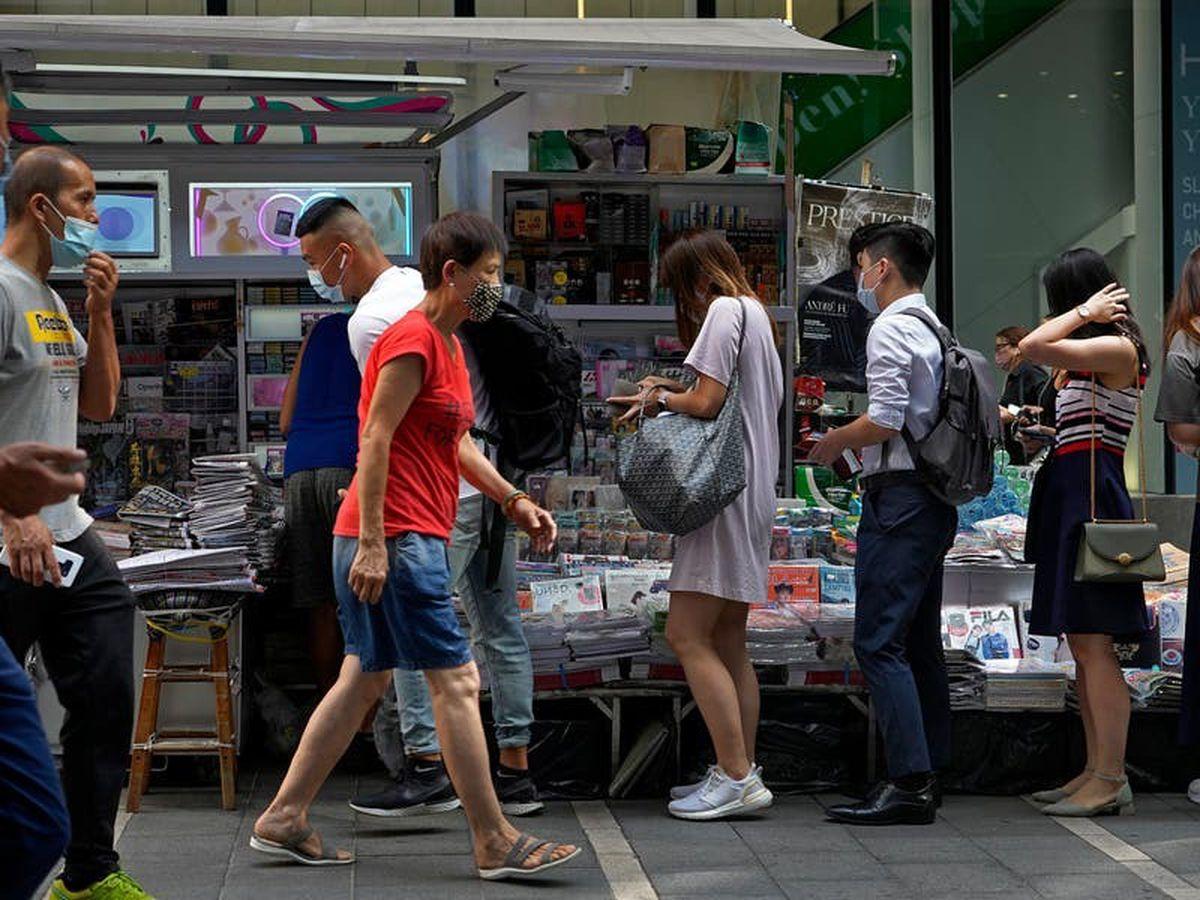 Hong Kong newspaper Apple Daily increases print run after arrests