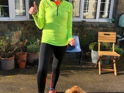 Self-isolation for Kate – run 5k a day