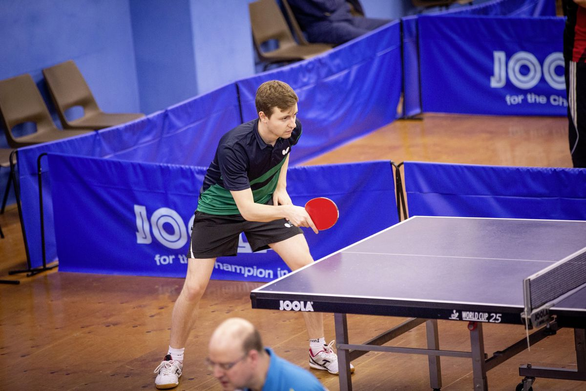 Runners-up Josh Stacey knocked the 2019 winner, his twin brother Lawrence, out in the semi-finals. (Picture by Sophie Rabey, 26884742)