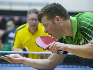 Garry Dodd enjoyed a confidence-boosting success at the Stiga Sycamore Superleague before he heads to the Home Countries International in the Isle of Man. (Picture by Peter Frankland, 26205482)