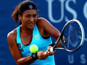 Poor record: Previously at the US Open Heather Watson has struggled. (22034266)