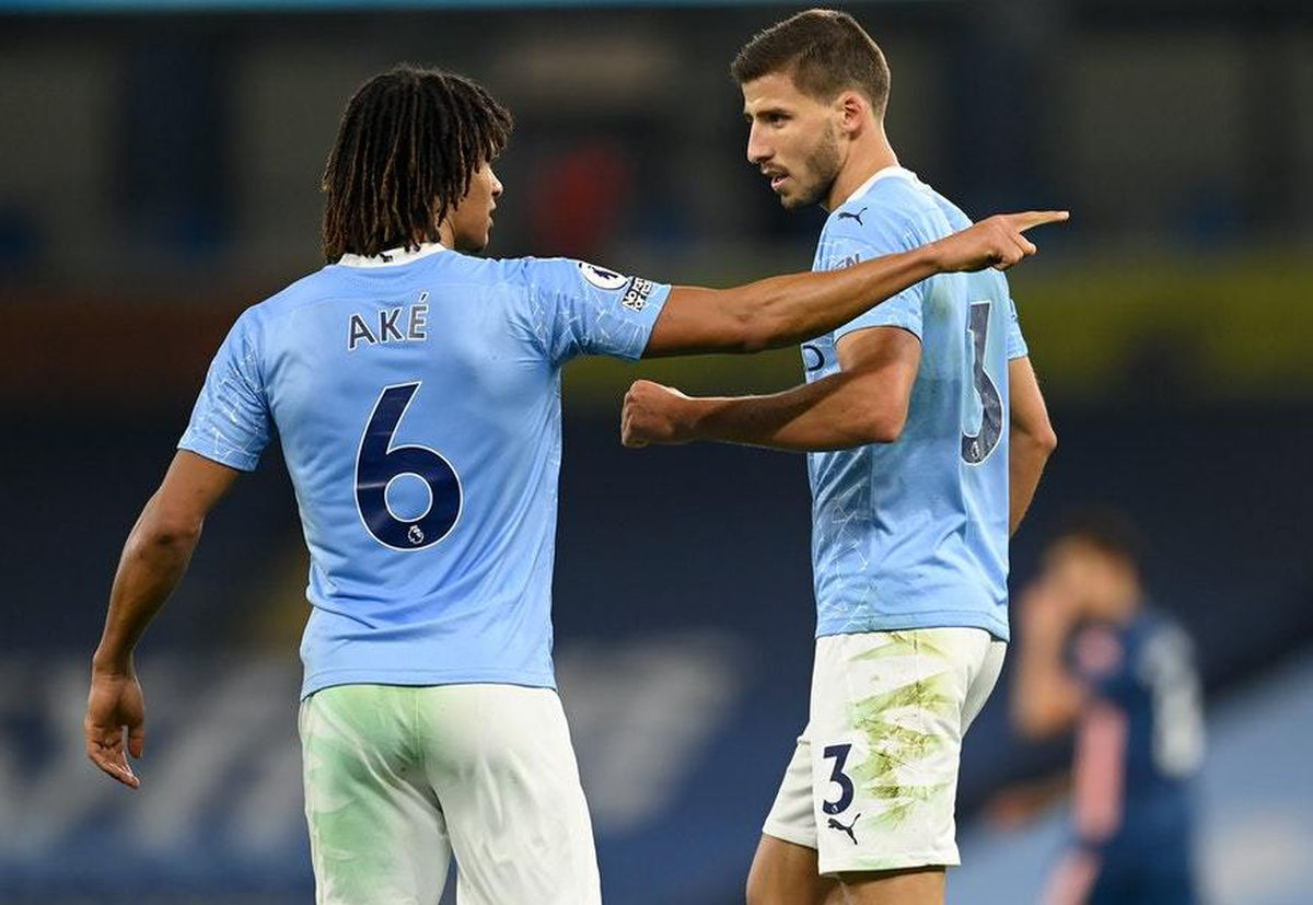 'They don't make mistakes' – Pep talks up defenders Ruben Dias and Nathan Ake