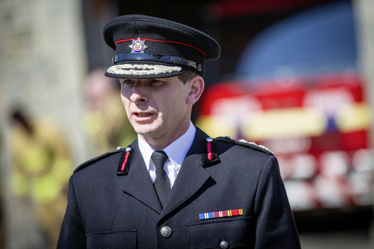 The Chief Fire Officer Jonathan Le Page. (29451070)