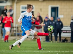 Rovers AC v St Peter (Jersey) in Jeremie Cup action .Will Fazakerley.www.guernseysportphotography.com .Port Soif, 18-11-17.. (28827698)