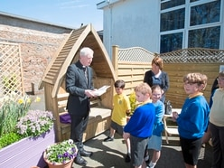 Castel Primary opens a garden of reflection