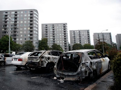 Sweden car fires suspect arrested in Turkey