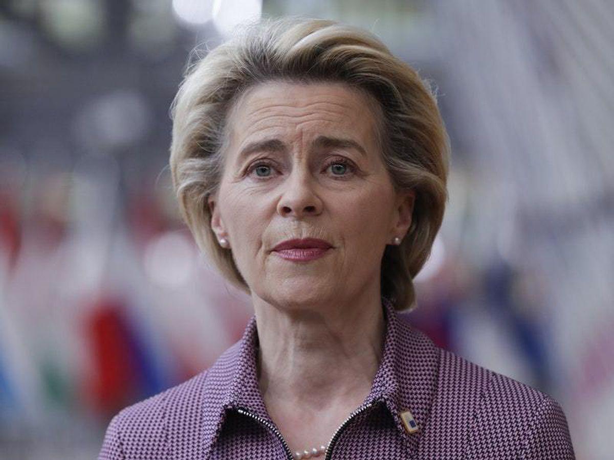 EU Commission chief von der Leyen to self-isolate after