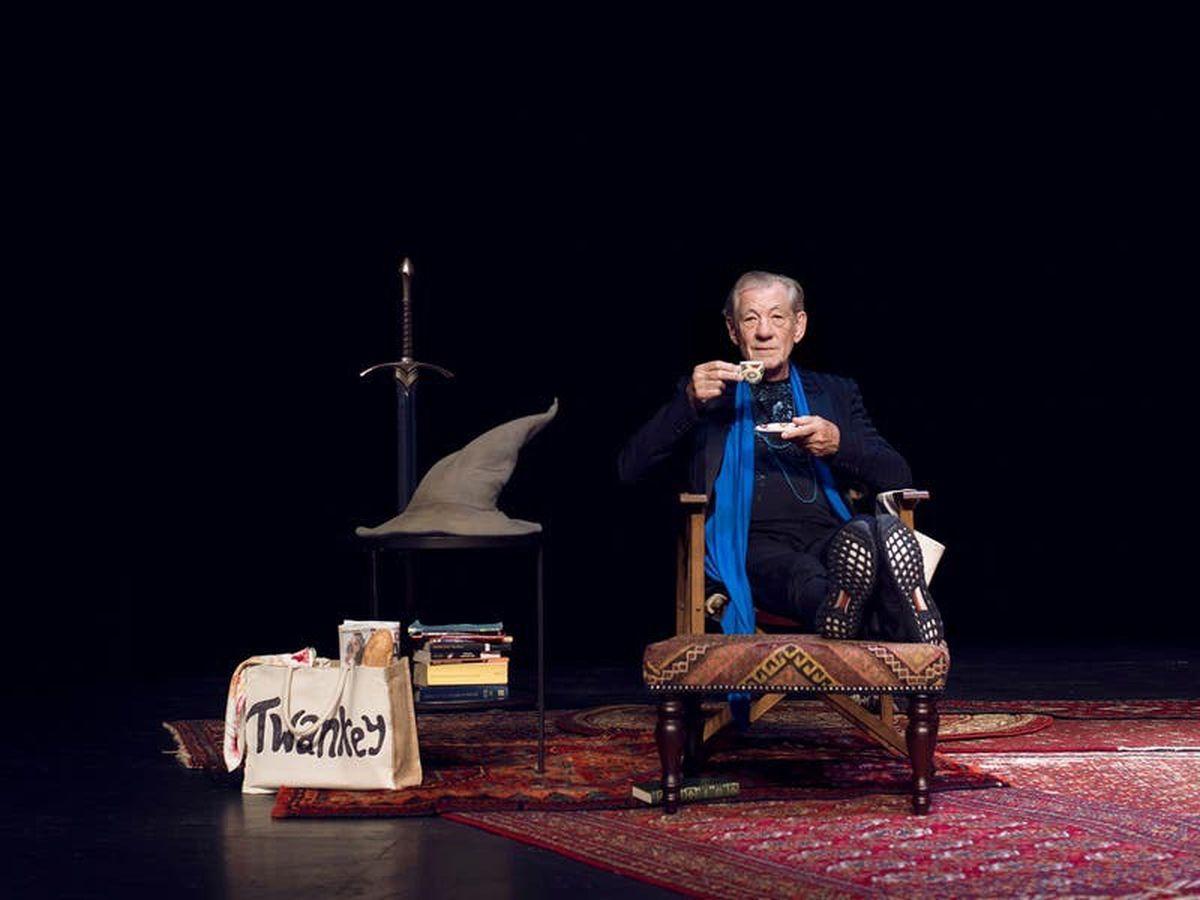 Sir Ian McKellen hits theatre fundraising milestone with one-man show