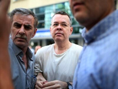 US pastor back in Turkish court for spying and terror trial