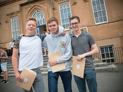 Local A-Level pass rate is better than England's