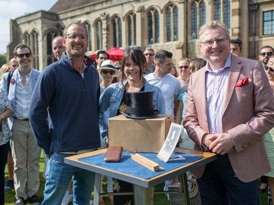 Churchill's hat turns up on Antiques Roadshow after being found in dump