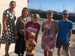 Team's 24-hour relay challenge for charity