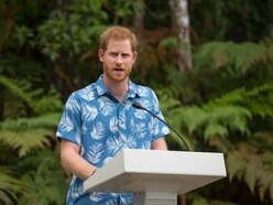 Harry emulates Queen for second day in a row on visit to Fiji forest