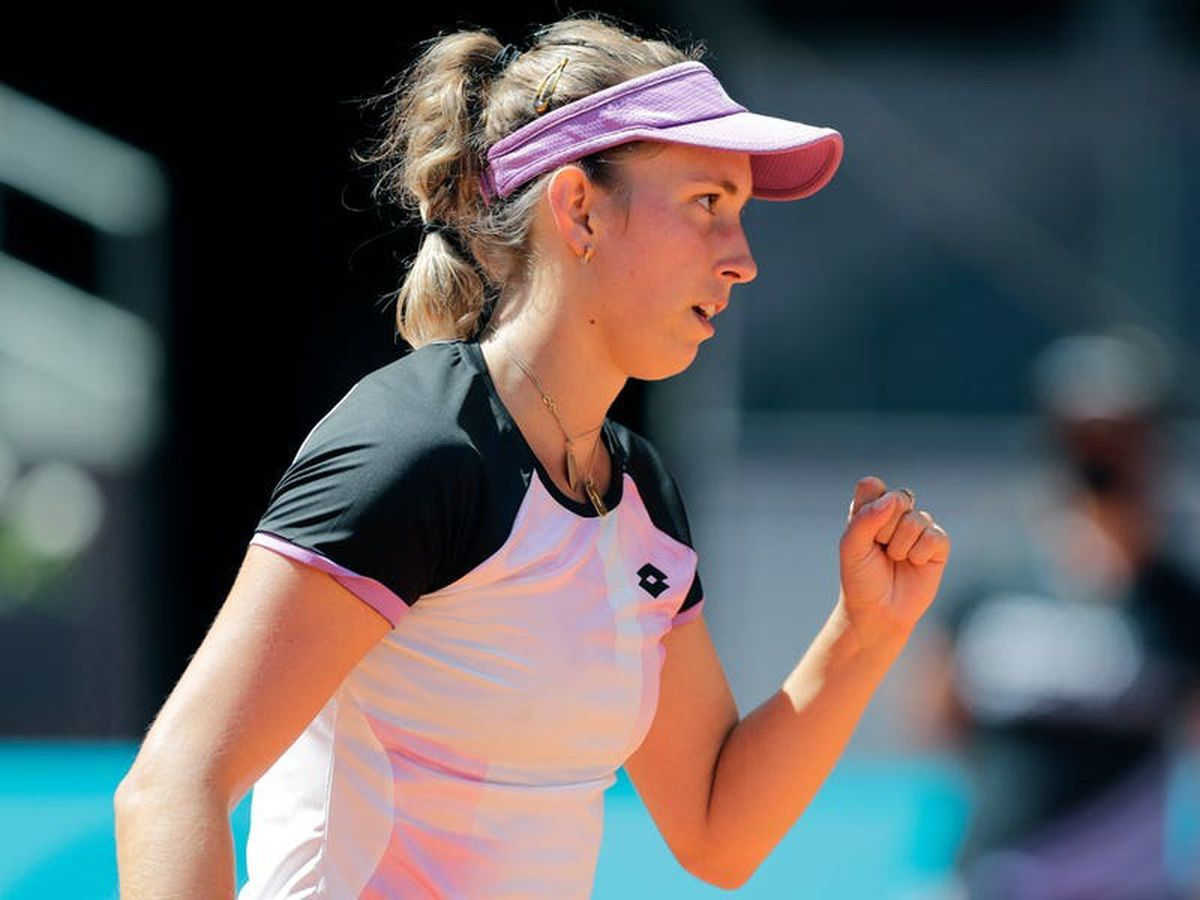 Elise Mertens knocks out two-time champion Simona Halep at the Madrid Open