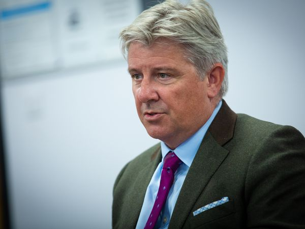 Policy & Resources treasury lead Deputy Mark Helyar. (Picture by Peter Frankland, 29793035)