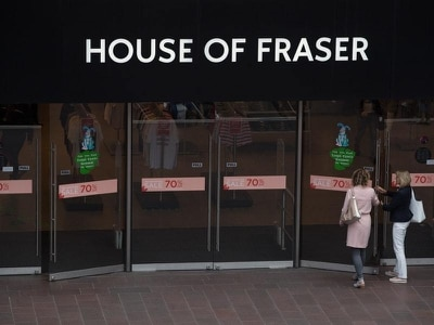 House of Fraser website offline amid reported delivery 'wrangle'