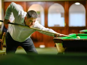 Pic supplied by Andrew Le Poidevin: 11-01-2020...The Individual Snooker League 'Masters' at the Gremlin Club. Martyn Desperques.. (29755668)
