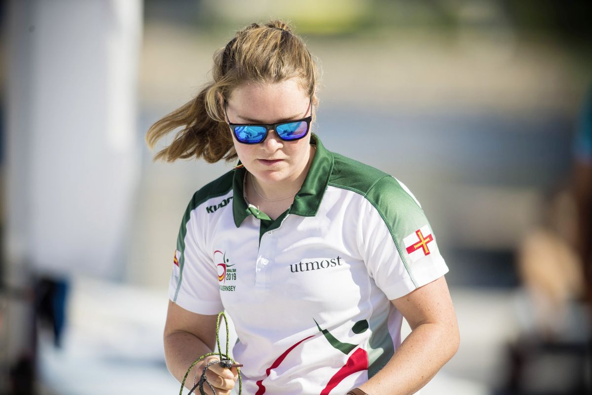 Island Games gold medallist Clem Thompson is returning to university. (Picture by Peter Frankland, 25191471)