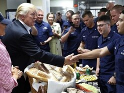 Donald Trump tells troops 'we're really winning' in Thanksgiving message