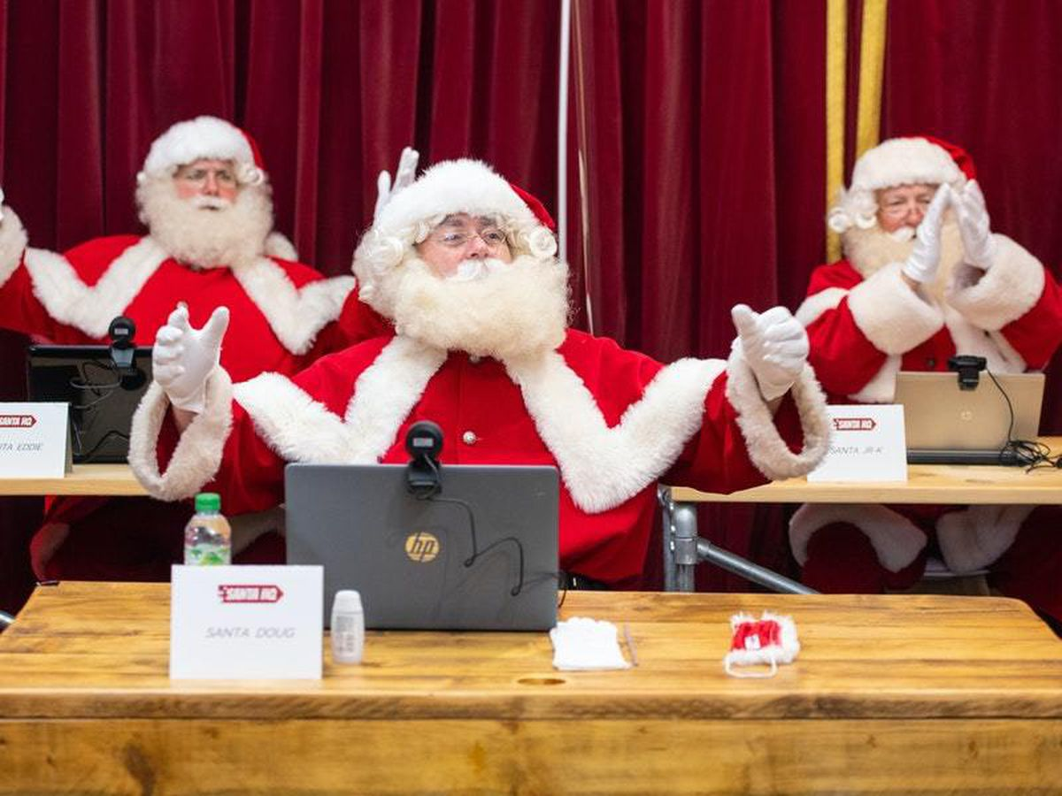 Father Christmas will not have to wear a mask in Santa's grottos, says No 10