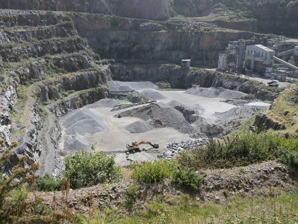 Pic by Adrian Miller 23-05-20 Ronez Quarry Les Vardes Vale - They are laying off staff. (29839328)