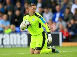 Tranmere goalkeeper Scott Davies believes 'the only way is up' for play-off finalists