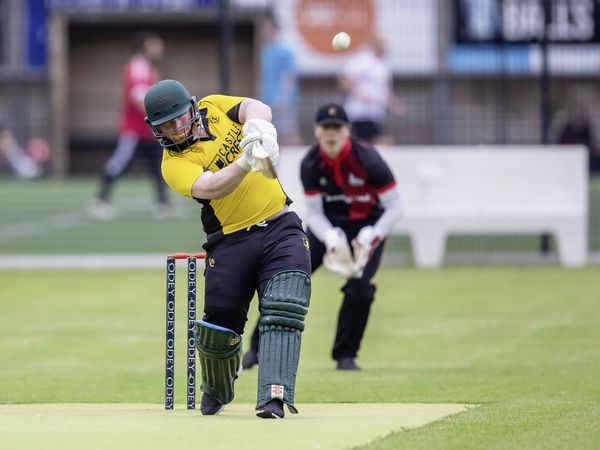 Guernsey Cricket - Independents v Optimists, Div 1 Evening T20 Championship. Alex Bushell.Picture by Martin Gray, www.guernseysportphotography.com, 09-06-21. (29638946)