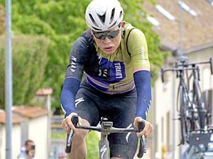 Rising to the challenges: Sam Culverwell in action at three-day Tour de'Eure-et-Loir. (29558852)
