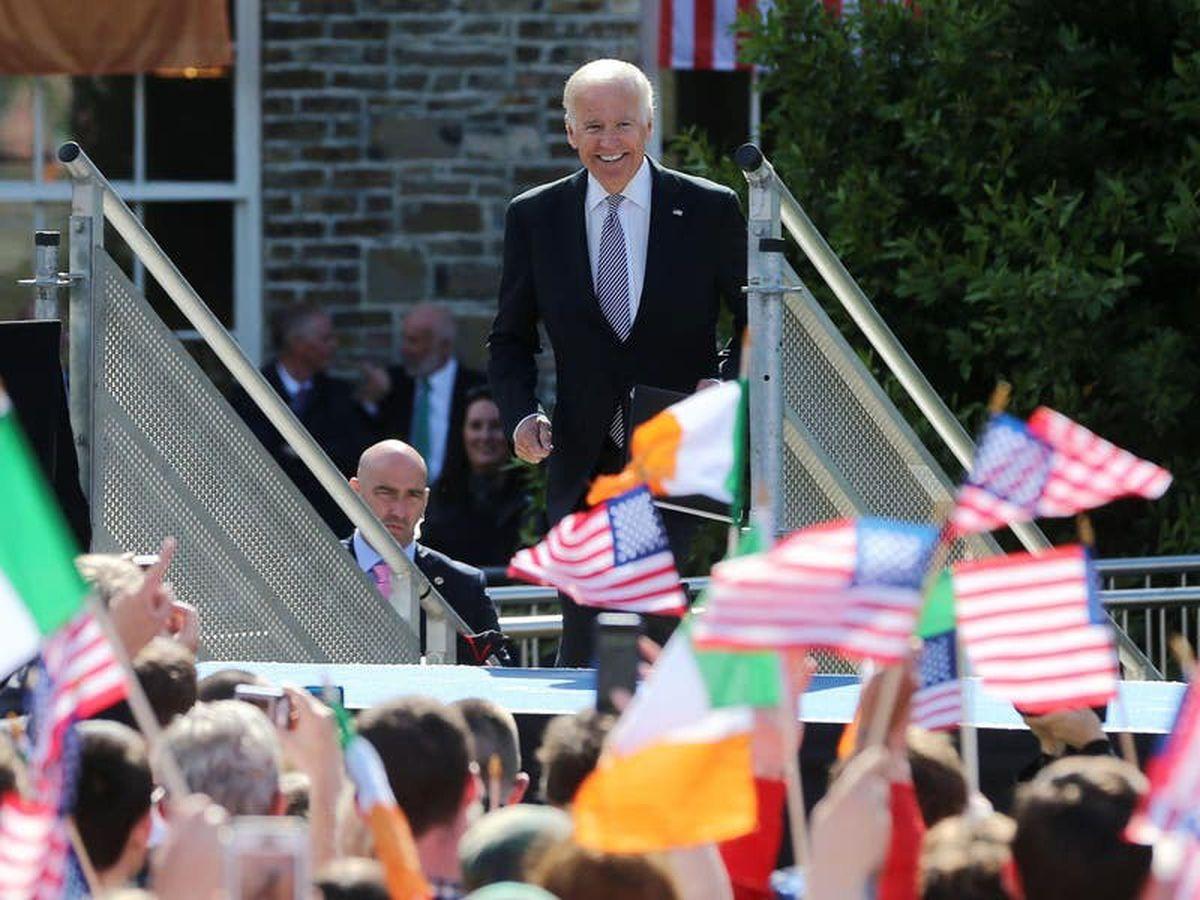 Biden's keen interest in trade border unsurprising due to Irish roots