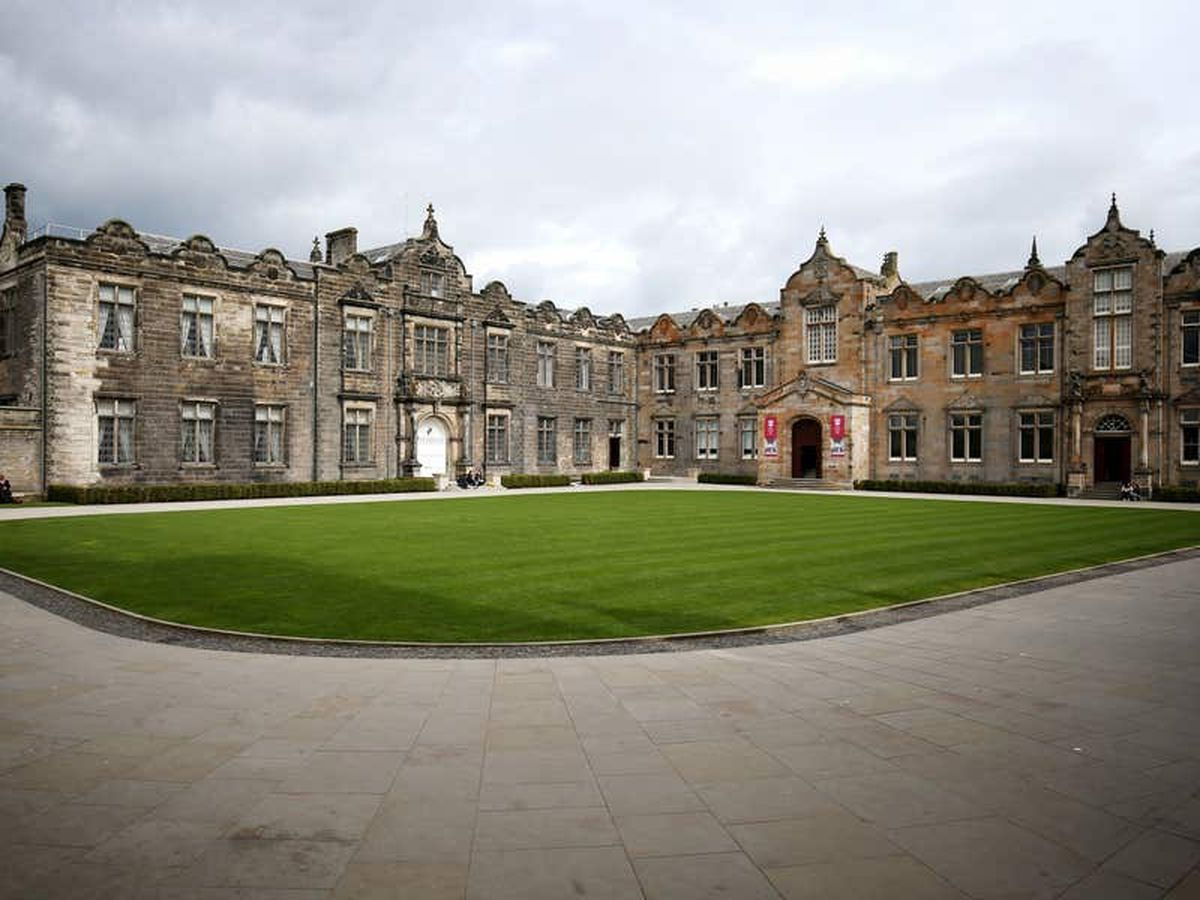 University of St Andrews principal 'thrilled' as it is named top in UK