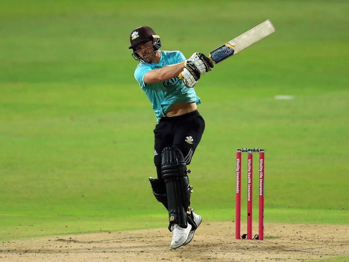 Laurie Evans and Sam Curran's century stand inspires Surrey to another Blast win