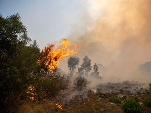 Residents evacuated as Table Mountain fire spreads in Cape Town