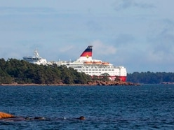 Baltic Sea ferry runs aground in Finnish waters
