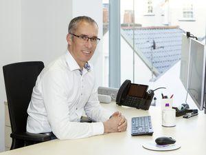 Jim Coupe, managing director, Skipton International. (29317130)