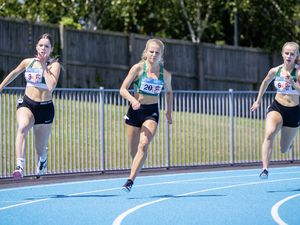 Picture by Sophie Rabey.  28-06-20.  Guernsey Athletics at Footes Lane, Track and Field Action.. (28410945)