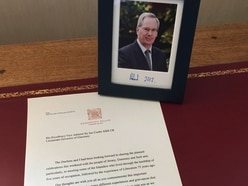 Message of Royal regrets