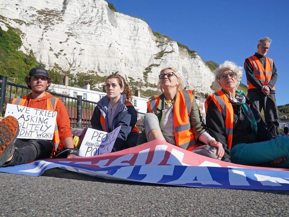 Insulate Britain blocks access to Port of Dover