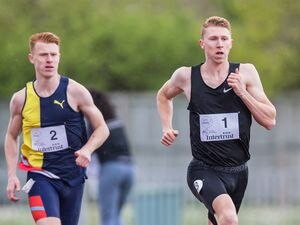Intertrust Track & Field Challenge .Island Games Trials 2019.Cameron Chalmers (1) and Alastair Chalmers (2).www.guernseysportphotography.com .Athletics at Footes Lane, 28-04-19. Picture by Martin Gray. (27658303)