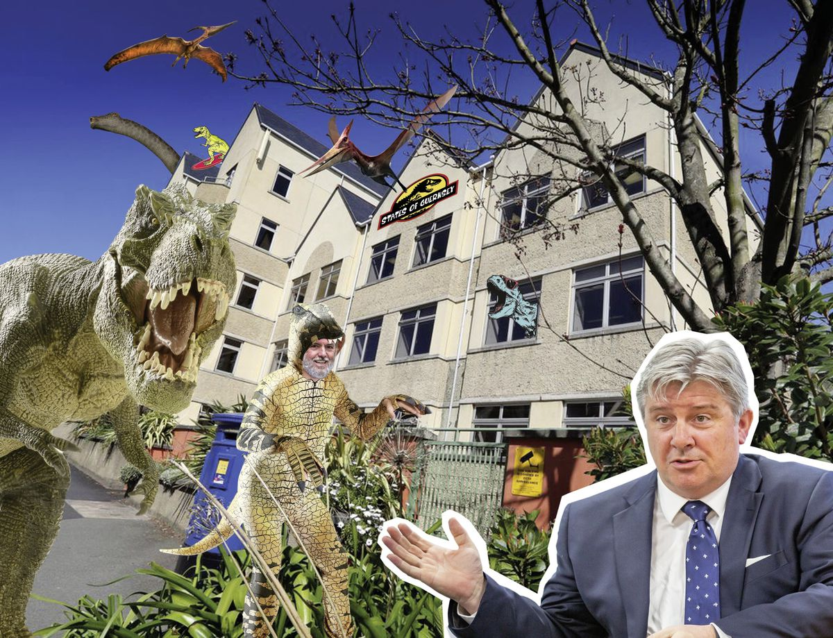 Mark Helyar on the 'out-of-control' States, dinosaur colleagues – and Deputy Peter Roffey. (Image by Andrea Guilbert)